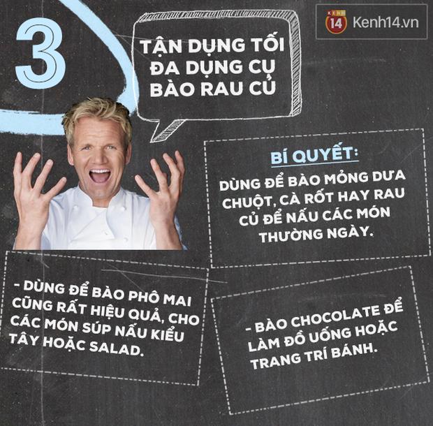 Học siêu đầu bếp Gordon Ramsay 5 mẹo nấu nướng thần sầu - Ảnh 4.
