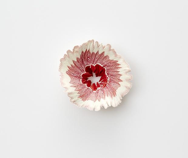 Ngắm vườn hoa xinh đẹp trổ bông từ vỏ gọt bút chì - Ảnh 4.