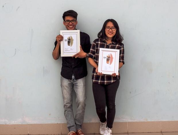 Chữ Ớt của nữ sinh Sài Gòn đoạt giải lớn trong cuộc thi thiết kế chuyên nghiệp ở Mỹ! - Ảnh 1.
