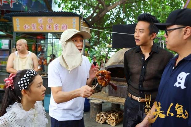 Hé lộ hình ảnh hậu trường Mỹ Nhân Ngư của vua hài Châu Tinh Trì - Ảnh 4.