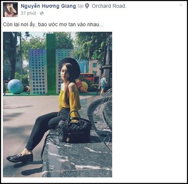 Nghi vấn Hương Giang Idol đã chia tay bạn trai Việt kiều - Ảnh 5.