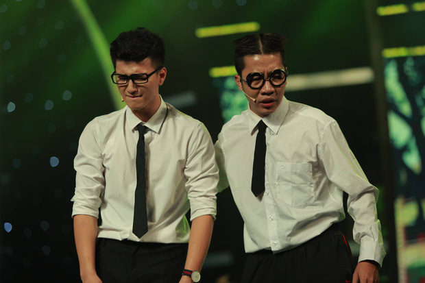 Hoán đổi: Huỳnh Anh vừa thư sinh, vừa cơ bắp đốn tim khán giả - Ảnh 7.