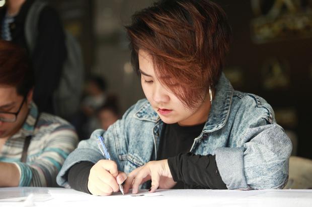 Chúng Huyền Thanh hộ tống bạn trai hot boy đi casting show âm nhạc - Ảnh 15.