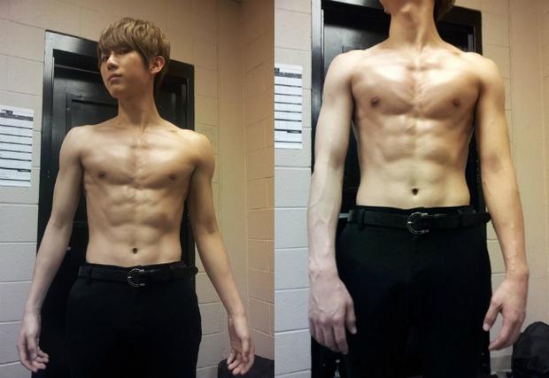 Những nghệ sĩ nam Hàn không thể ngừng phanh áo, khoe múi bụng săn chắc - Ảnh 3.