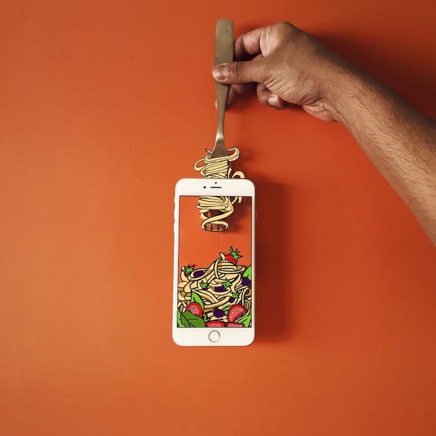 Với hoa tay của chàng họa sĩ này, iPhone không chỉ còn là chiếc điện thoại - Ảnh 10.