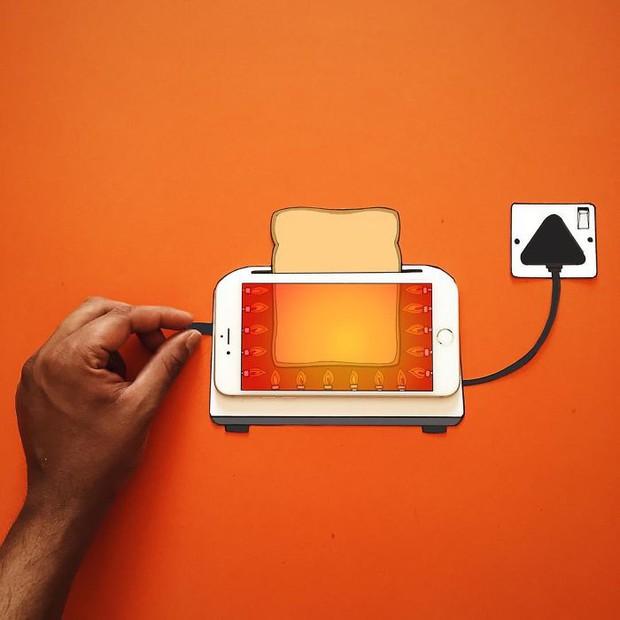Với hoa tay của chàng họa sĩ này, iPhone không chỉ còn là chiếc điện thoại - Ảnh 12.