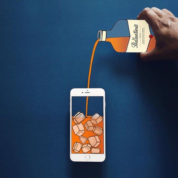 Với hoa tay của chàng họa sĩ này, iPhone không chỉ còn là chiếc điện thoại - Ảnh 13.