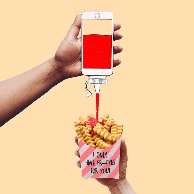 Với hoa tay của chàng họa sĩ này, iPhone không chỉ còn là chiếc điện thoại - Ảnh 4.