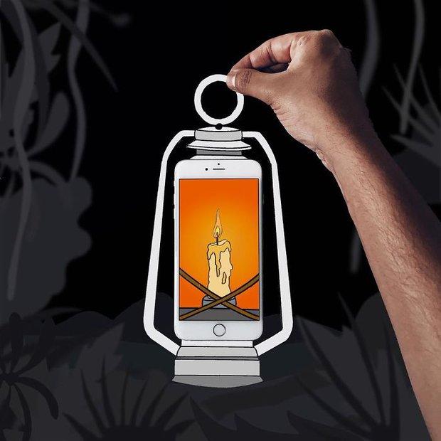 Với hoa tay của chàng họa sĩ này, iPhone không chỉ còn là chiếc điện thoại - Ảnh 5.