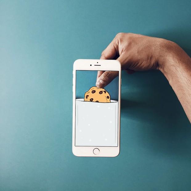 Với hoa tay của chàng họa sĩ này, iPhone không chỉ còn là chiếc điện thoại - Ảnh 6.