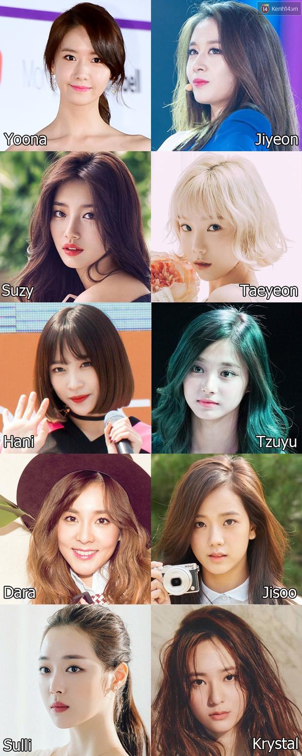 Yoona hay Jiyeon, Gigi hay Kendall, ai sẽ thắng cuộc chiến sắc đẹp 2016 do fan Việt bình chọn? - Ảnh 1.