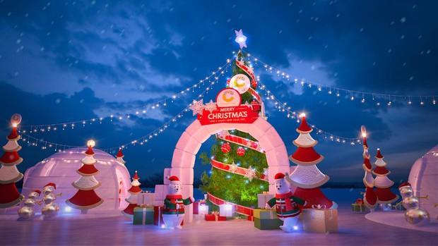 Thiên đường Giáng sinh ngay tại Crescent Mall - Ảnh 2.