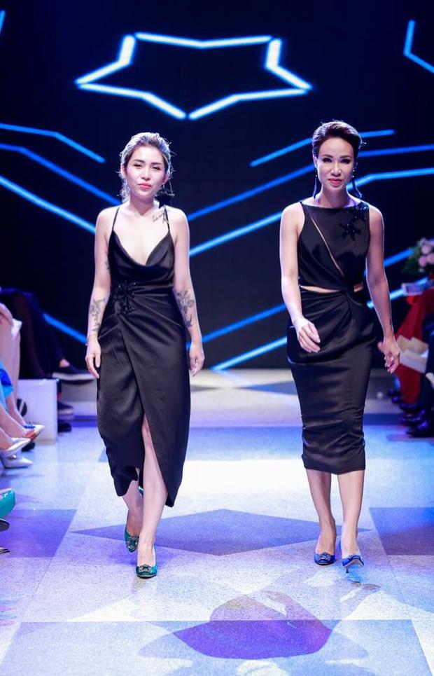Thanh Hằng diện váy làm từ 25m vải lên sàn diễn của Adrian Anh Tuấn - Ảnh 19.