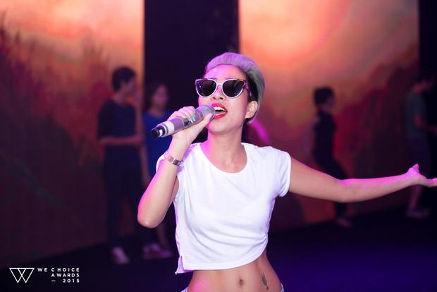 Dàn sao hot giản dị đến tổng duyệt Gala WeChoice 2015 - Ảnh 18.