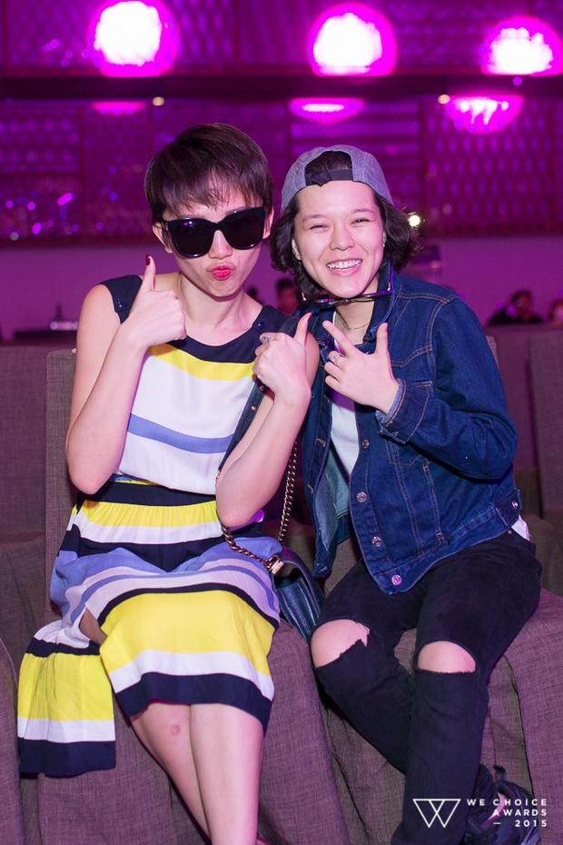 Dàn sao hot giản dị đến tổng duyệt Gala WeChoice 2015 - Ảnh 15.