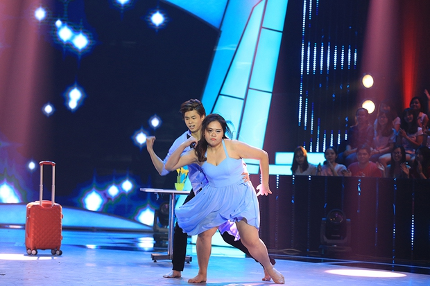 Bước nhảy ngàn cân: Hình ảnh cô gái ung thư Ngọc Nữ khiến Mr. Đàm nghẹn ngào - Ảnh 12.
