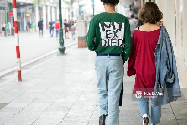 Street style ngày cuối VIFW: Trang Khiếu nổi bật nhất hội với set đồ đỏ rực rỡ - Ảnh 13.