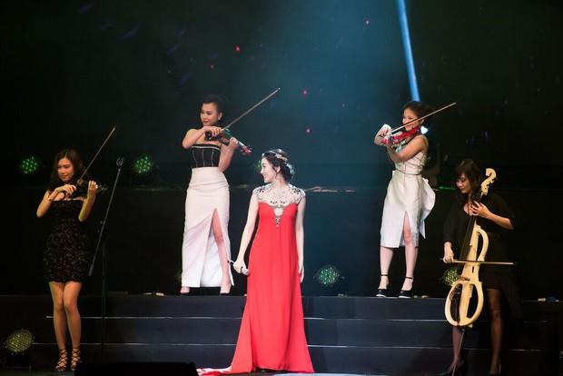 Sốt với 5 cô gái Maius Lady cover nhạc phim Hậu duệ mặt trời theo phong cách giao hưởng - Ảnh 8.