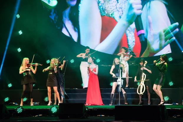 Sốt với 5 cô gái Maius Lady cover nhạc phim Hậu duệ mặt trời theo phong cách giao hưởng - Ảnh 9.