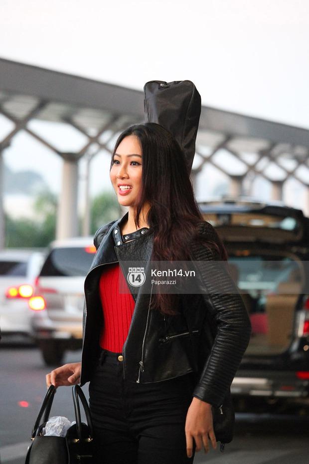 Đại diện Việt Nam - Diệu Ngọc chính thức lên đường đến cuộc thi nhan sắc lớn nhất hành tinh Hoa hậu Thế giới 2016 - Ảnh 3.