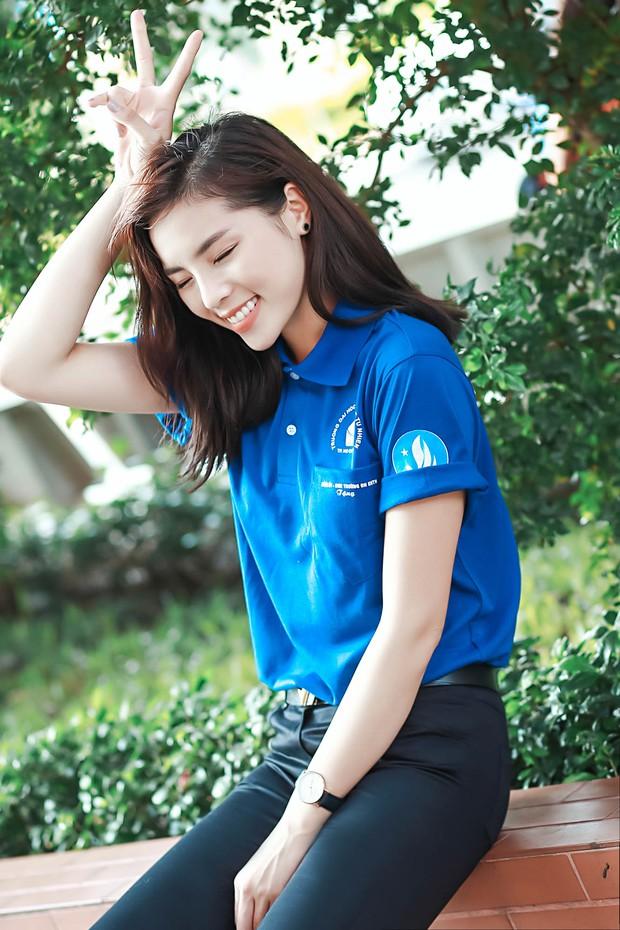 Hoa hậu Kỳ Duyên, Ái Phương cực rạng rỡ trong lễ ra quân chiến dịch Mùa hè xanh - Ảnh 4.
