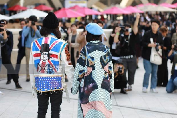 Hoàng Ku, Châu Bùi, Cao Minh Thắng & các fashionista Việt nổi không kém fashionista Hàn tại Seoul Fashion Week - Ảnh 5.