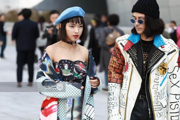 Hoàng Ku, Châu Bùi, Cao Minh Thắng & các fashionista Việt nổi không kém fashionista Hàn tại Seoul Fashion Week - Ảnh 1.