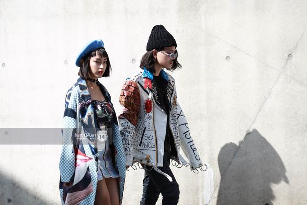 Hoàng Ku, Châu Bùi, Cao Minh Thắng & các fashionista Việt nổi không kém fashionista Hàn tại Seoul Fashion Week - Ảnh 4.