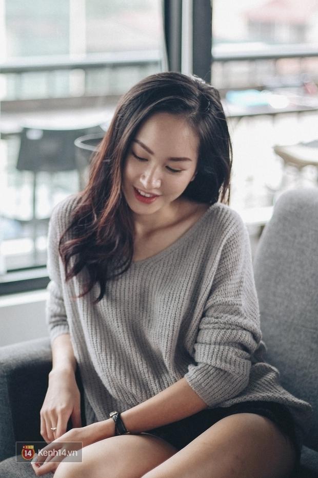 Lê Vi: Cô nữ sinh Hà Nội sở hữu nụ cười xinh chết người - Ảnh 10.
