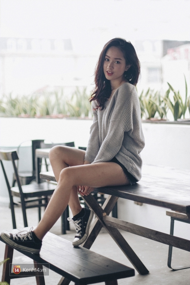 Lê Vi: Cô nữ sinh Hà Nội sở hữu nụ cười xinh chết người - Ảnh 12.