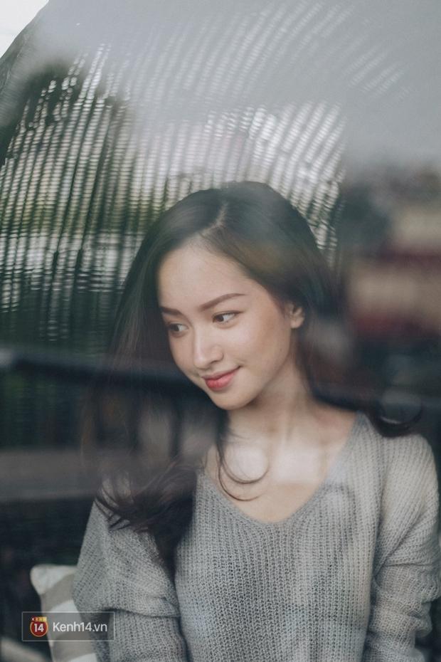 Lê Vi: Cô nữ sinh Hà Nội sở hữu nụ cười xinh chết người - Ảnh 11.