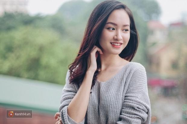 Lê Vi: Cô nữ sinh Hà Nội sở hữu nụ cười xinh chết người - Ảnh 8.