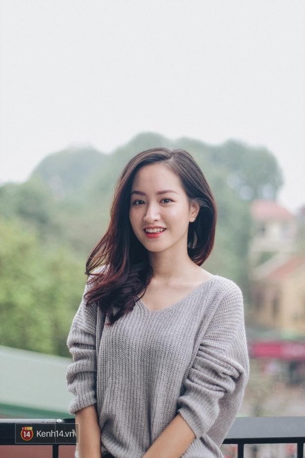 Lê Vi: Cô nữ sinh Hà Nội sở hữu nụ cười xinh chết người - Ảnh 1.