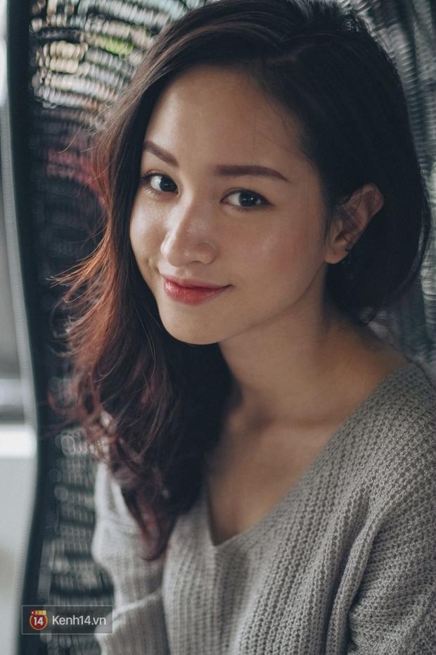 Lê Vi: Cô nữ sinh Hà Nội sở hữu nụ cười xinh chết người - Ảnh 4.