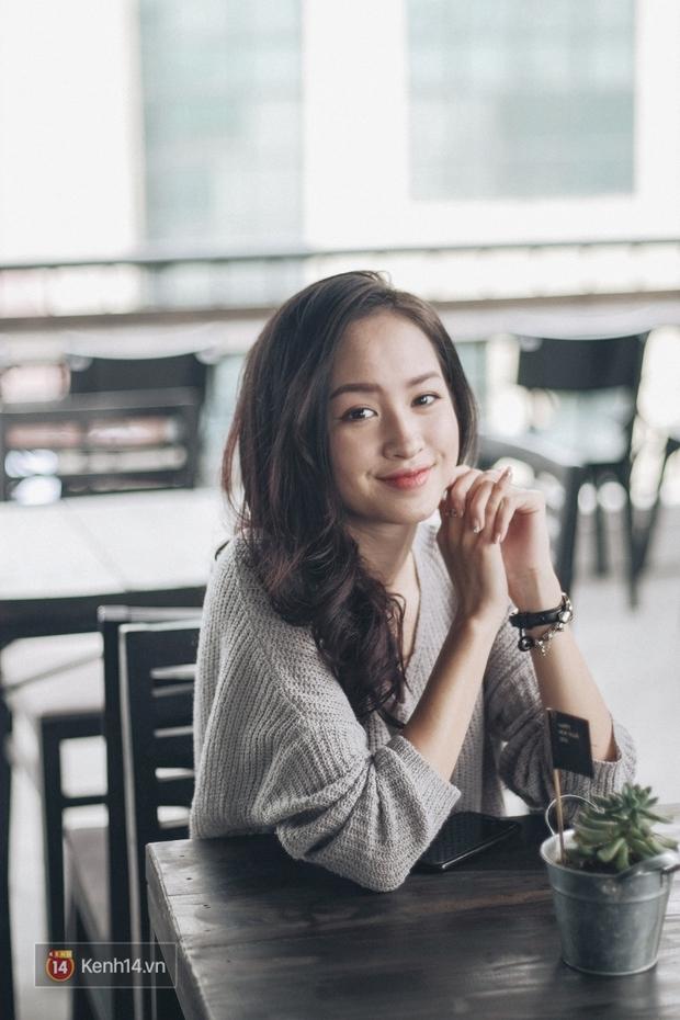 Lê Vi: Cô nữ sinh Hà Nội sở hữu nụ cười xinh chết người - Ảnh 15.