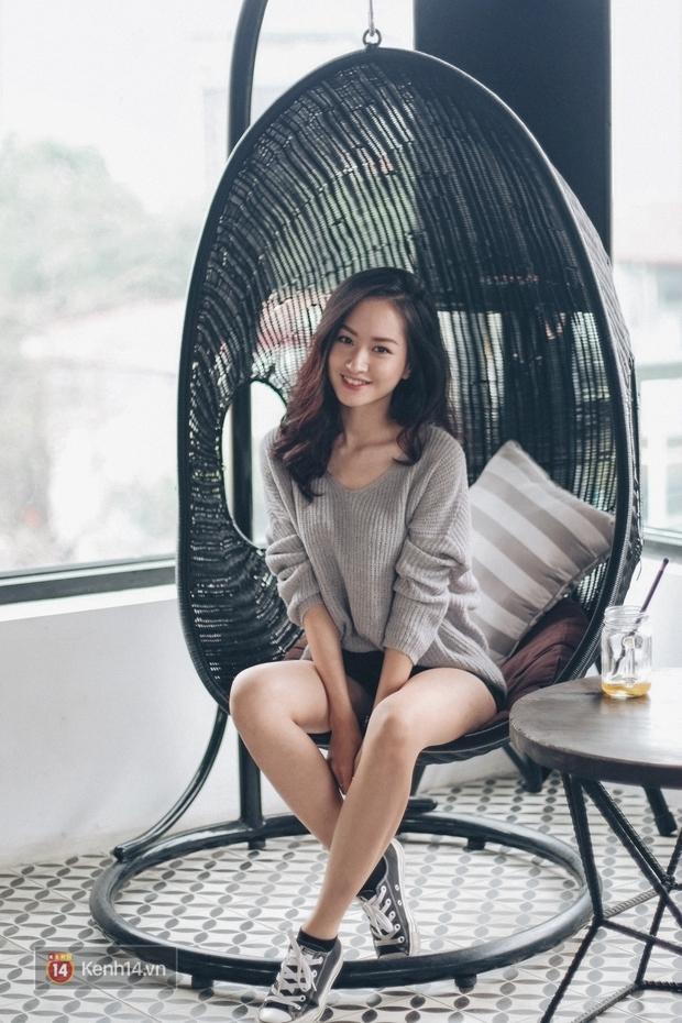 Lê Vi: Cô nữ sinh Hà Nội sở hữu nụ cười xinh chết người - Ảnh 7.