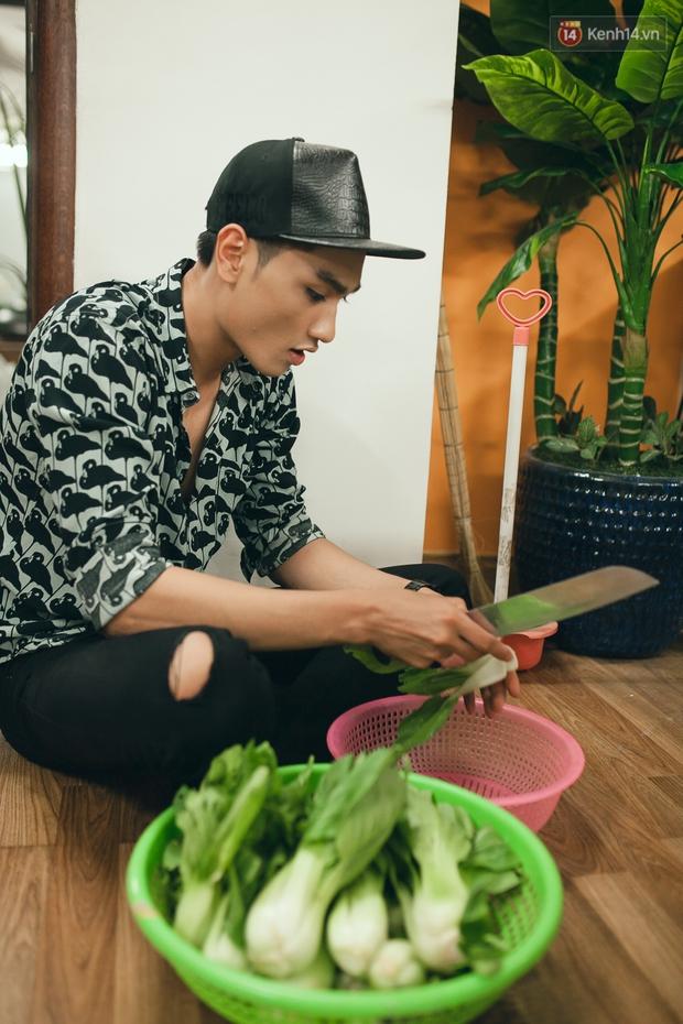 Vừa đẹp trai lại giỏi nấu ăn, đó chính là Huy Quang Next Top! - Ảnh 4.