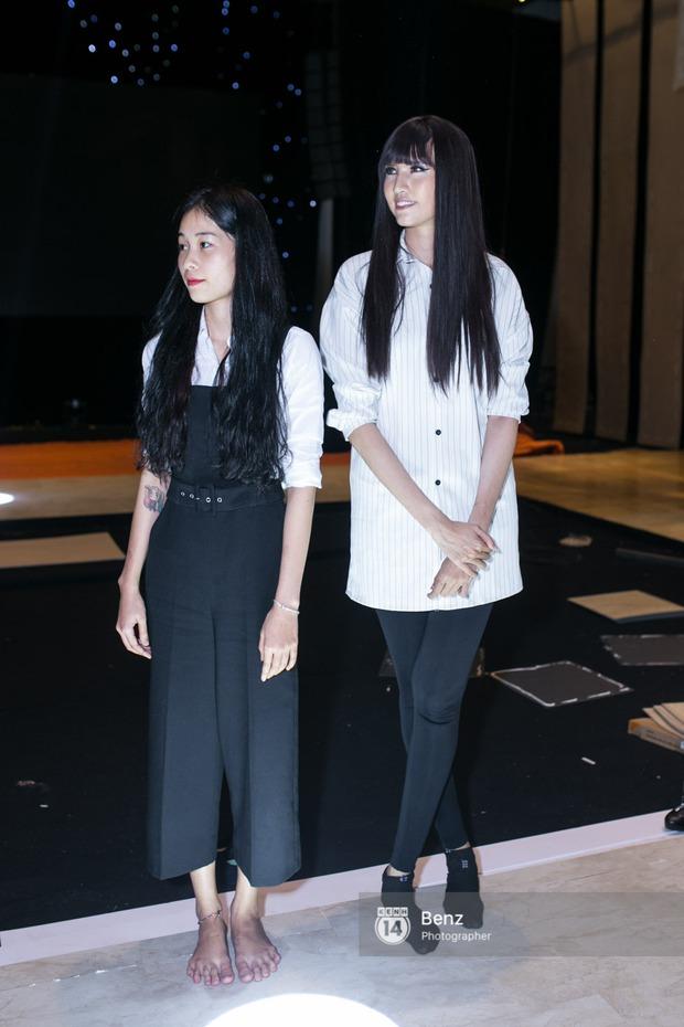 Mai Ngô để lộ dáng to gấp đôi Phí Phương Anh trong buổi tập Elle Show 2016 - Ảnh 15.