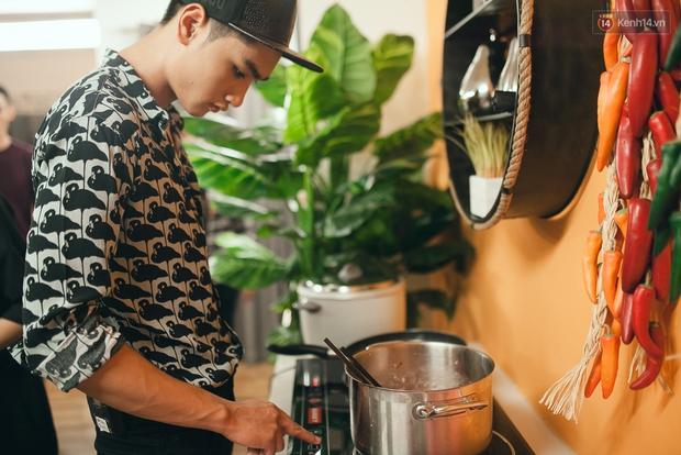 Vừa đẹp trai lại giỏi nấu ăn, đó chính là Huy Quang Next Top! - Ảnh 8.