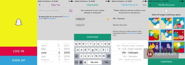 Hướng dẫn sử dụng Snapchat từ A tới Z - Ảnh 1.