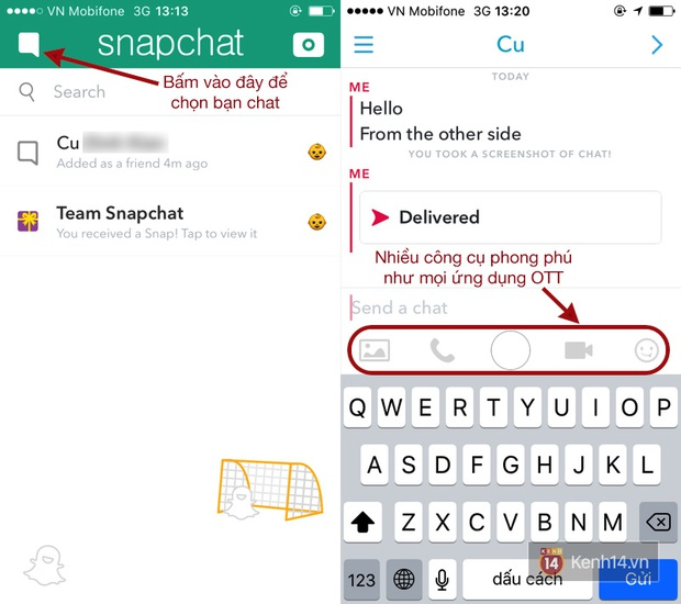 Hướng dẫn sử dụng Snapchat từ A tới Z - Ảnh 4.