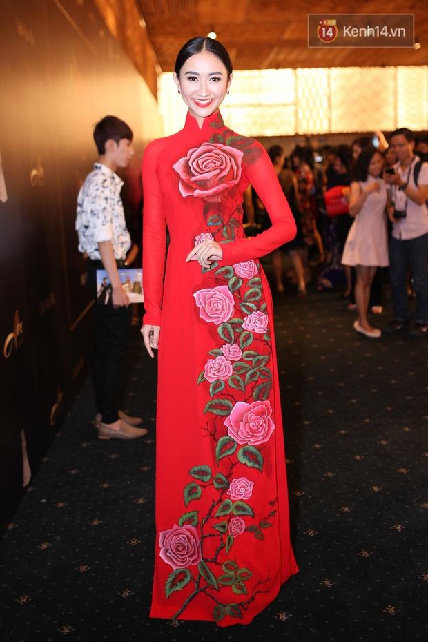 Dàn mỹ nhân Việt đua sắc với Áo dài trên thảm đỏ - Ảnh 6.