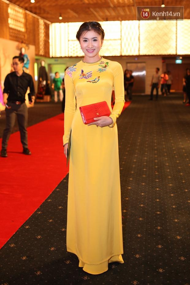 Dàn mỹ nhân Việt đua sắc với Áo dài trên thảm đỏ - Ảnh 17.