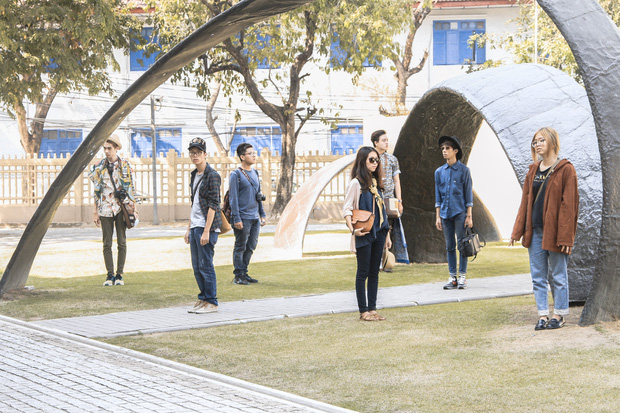 Đi Thái Lan, nhóm bạn Việt Nam diễn lại bộ ảnh du lịch chất lừ như tạp chí thời trang - Ảnh 6.