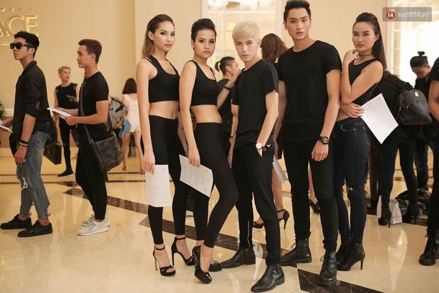 Mẫu lưỡng tính, mẫu chuyển giới nổi bật tại buổi casting cho Vietnam International Fashion Week - Ảnh 2.