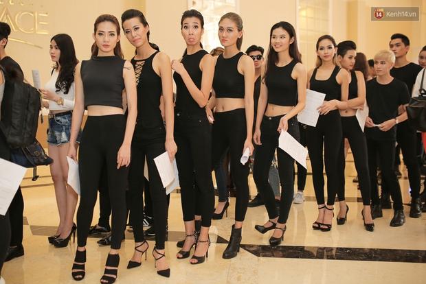 Mẫu lưỡng tính, mẫu chuyển giới nổi bật tại buổi casting cho Vietnam International Fashion Week - Ảnh 3.