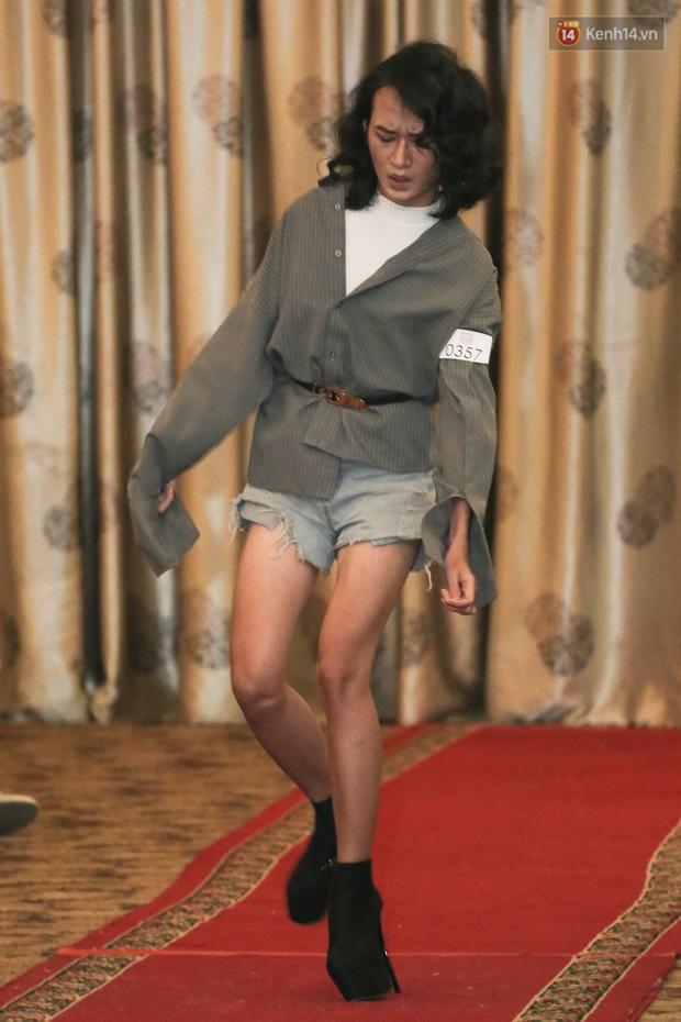 Mẫu lưỡng tính, mẫu chuyển giới nổi bật tại buổi casting cho Vietnam International Fashion Week - Ảnh 8.