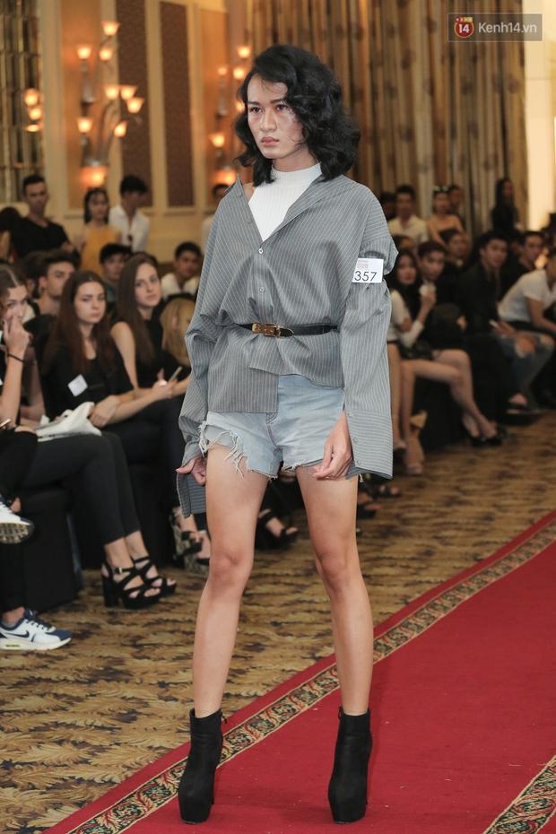 Mẫu lưỡng tính, mẫu chuyển giới nổi bật tại buổi casting cho Vietnam International Fashion Week - Ảnh 7.