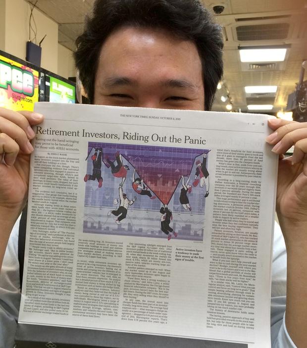 Gặp anh họa sỹ người Việt vẽ minh họa cho báo The New York Times - Ảnh 6.