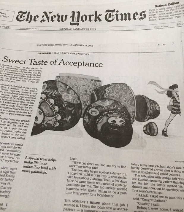Gặp anh họa sỹ người Việt vẽ minh họa cho báo The New York Times - Ảnh 2.